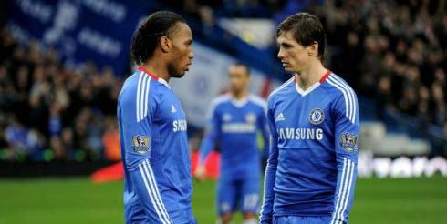 Didier drogba , Fernando Torres
